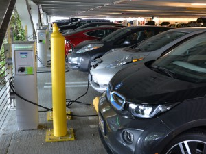 PDX Electric Vehicle Stations